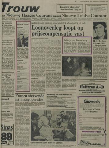 Nieuwe Leidsche Courant 1975-11-05