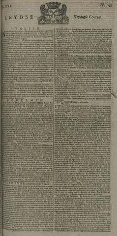 Leydse Courant 1744-11-27