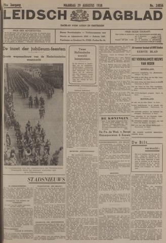 Leidsch Dagblad 1938-08-29
