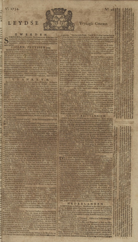 Leydse Courant 1754-03-01