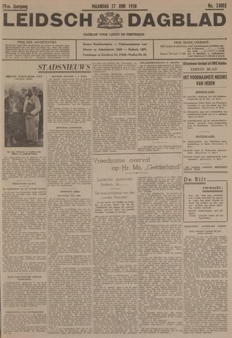 Leidsch Dagblad 1938-06-27