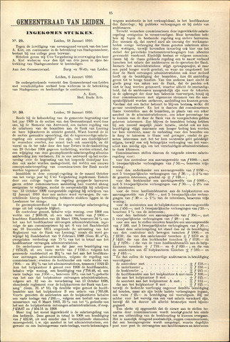 Handelingen van de Raad 1910-01-18