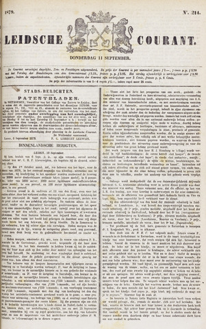 Leydse Courant 1879-09-11