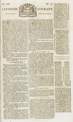 Leydse Courant 1828-11-05