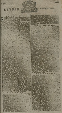 Leydse Courant 1727-03-03