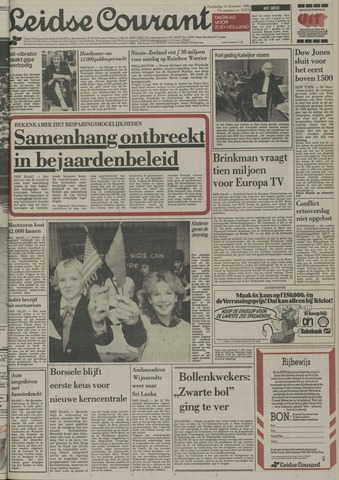Leidse Courant 1985-12-12