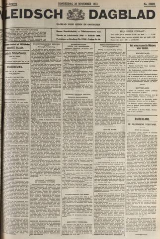 Leidsch Dagblad 1933-11-30