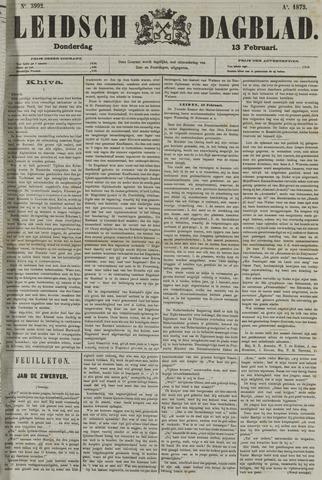 Leidsch Dagblad 1873-02-13
