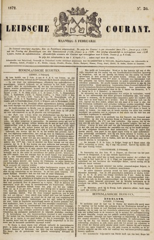 Leydse Courant 1872-02-05