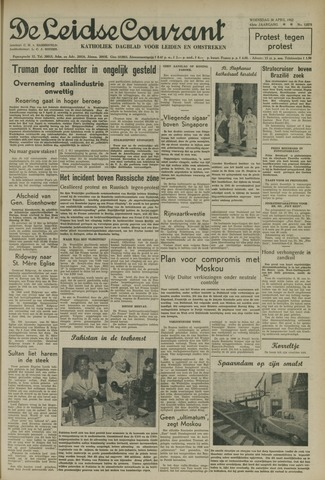 Leidse Courant 1952-04-30