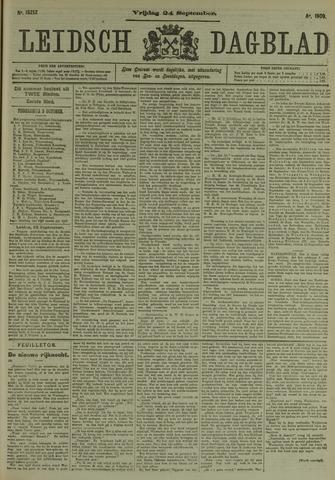 Leidsch Dagblad 1909-09-24