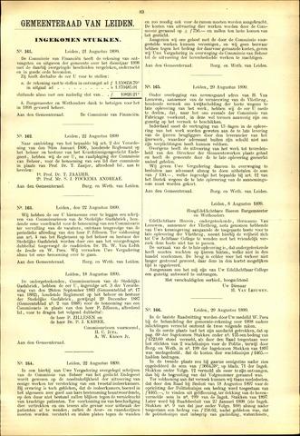 Handelingen van de Raad 1899-08-21