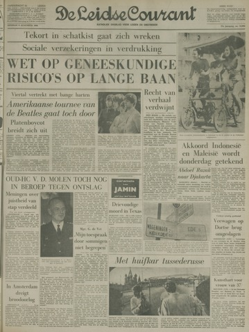 Leidse Courant 1966-08-09