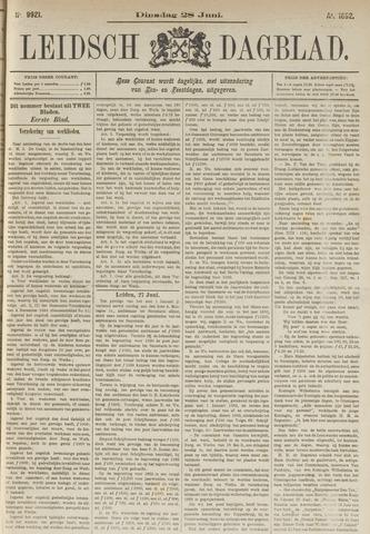 Leidsch Dagblad 1892-06-28