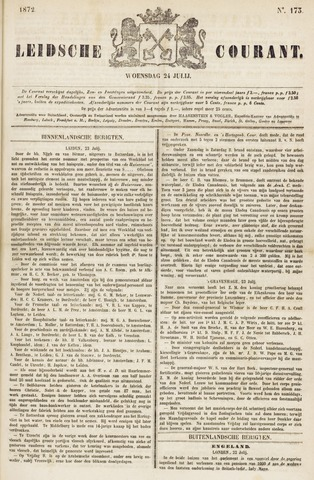 Leydse Courant 1872-07-24
