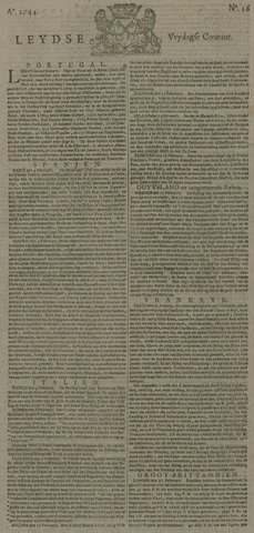 Leydse Courant 1744-02-28