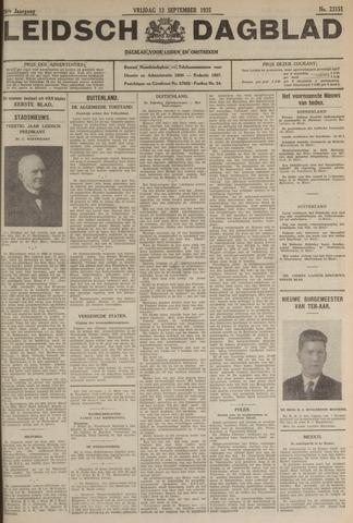 Leidsch Dagblad 1935-09-13