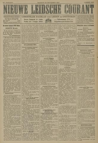 Nieuwe Leidsche Courant 1927-09-26