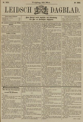 Leidsch Dagblad 1890-05-23