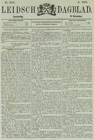 Leidsch Dagblad 1876-11-16
