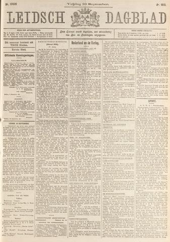 Leidsch Dagblad 1915-09-10