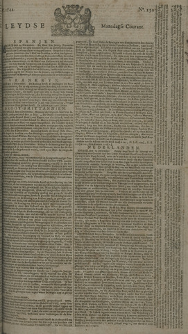 Leydse Courant 1744-12-14