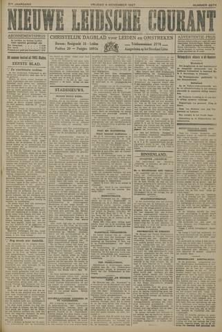 Nieuwe Leidsche Courant 1927-11-04