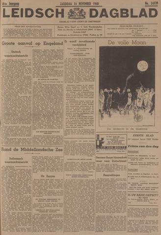 Leidsch Dagblad 1940-11-16