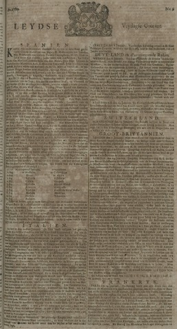 Leydse Courant 1729-01-21