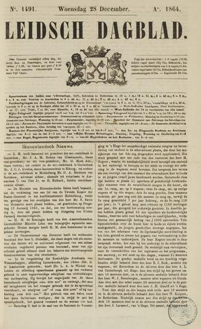 Leidsch Dagblad 1864-12-28