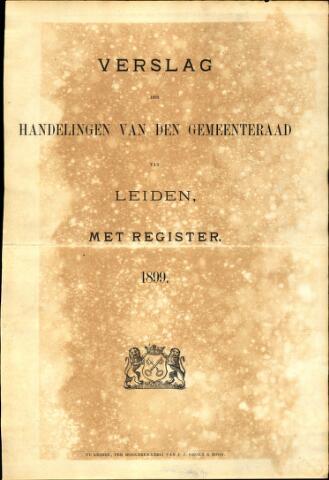 Handelingen van de Raad 1899-01-01