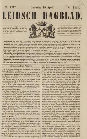 Leidsch Dagblad 1864-04-19