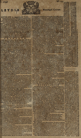 Leydse Courant 1753-11-26