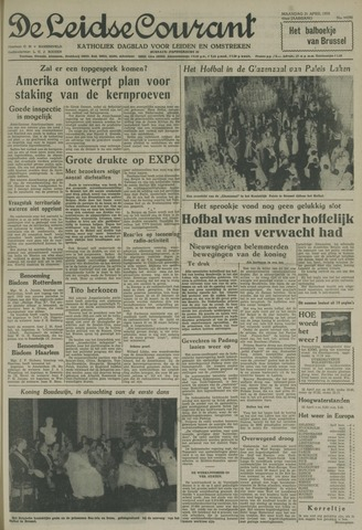 Leidse Courant 1958-04-21