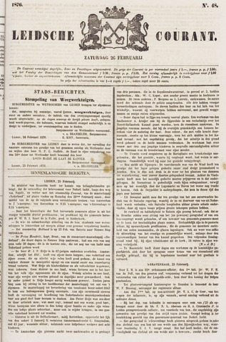 Leydse Courant 1876-02-26