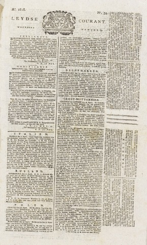 Leydse Courant 1818-05-06