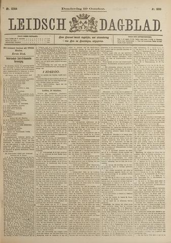 Leidsch Dagblad 1899-10-19