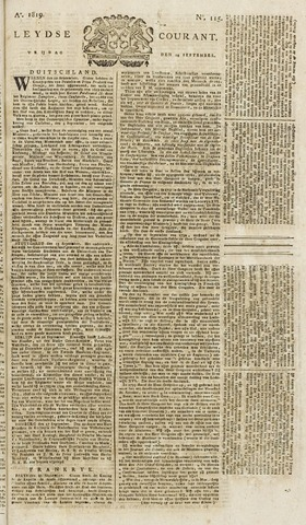 Leydse Courant 1819-09-24