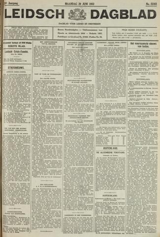 Leidsch Dagblad 1932-06-20