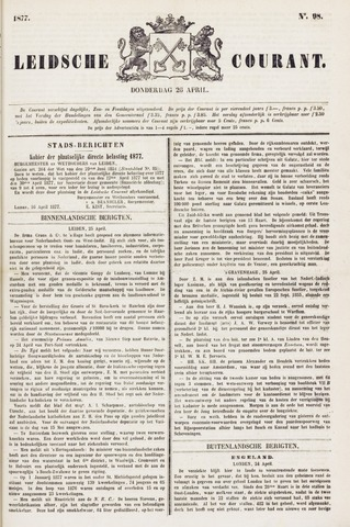 Leydse Courant 1877-04-26