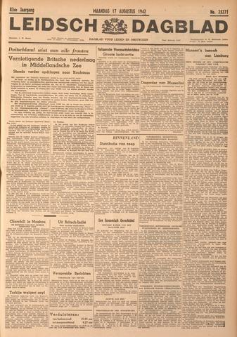 Leidsch Dagblad 1942-08-17
