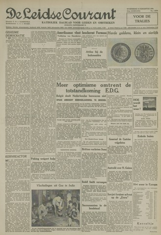 Leidse Courant 1954-08-18