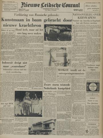 Nieuwe Leidsche Courant 1957-11-05
