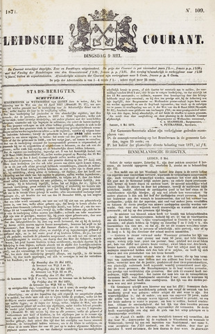 Leydse Courant 1871-05-09