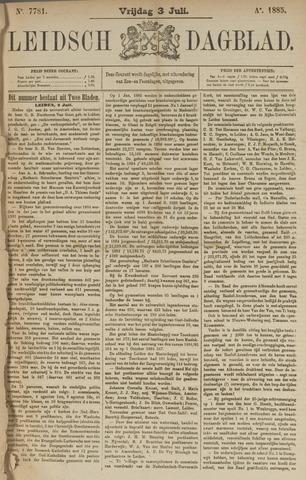 Leidsch Dagblad 1885-07-03
