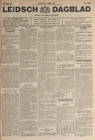 Leidsch Dagblad 1933-04-03