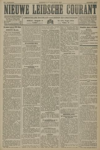 Nieuwe Leidsche Courant 1927-08-17