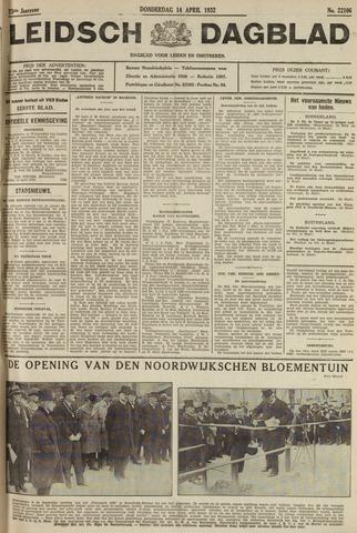 Leidsch Dagblad 1932-04-14