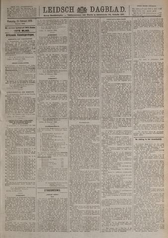Leidsch Dagblad 1920-02-25