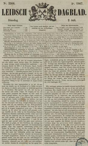 Leidsch Dagblad 1867-07-02